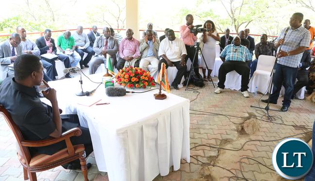 MUZ President Chishimba Nkole