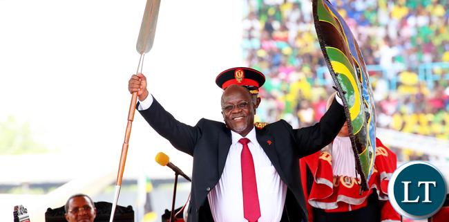 President Magufuli Power