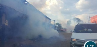 Teargas fired at UPND offices in Luanshya
