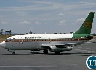 Zambia Airways Boeing 737-200
