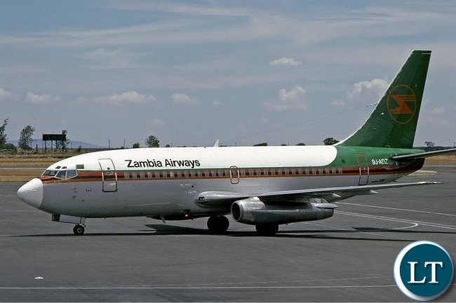 Zambia Airways Boeing 737-200