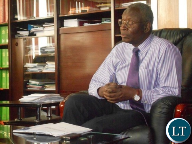 Health Minister Joseph Kasonde