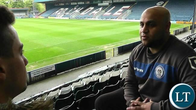 New Chipolopolo Assistant Coach Irfan Kawri