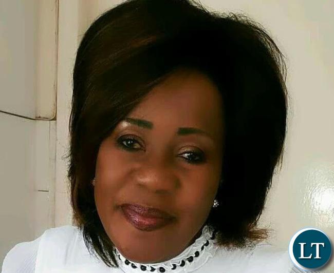 Irene Musonda Communications Director in office of the MMD President