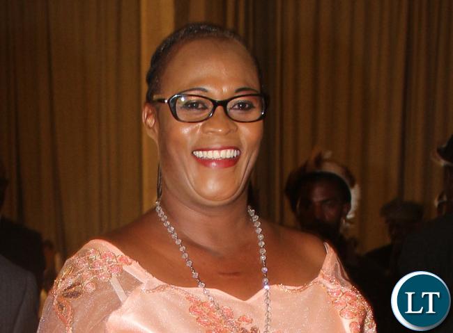PF Deputy GS Mumbi Phiri,