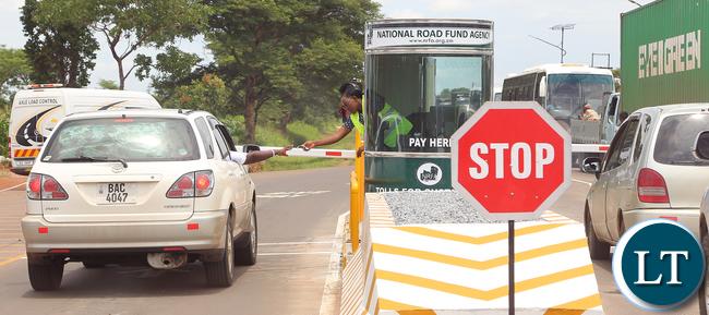 National Roads Fund Toll Gates at Kafulafuta