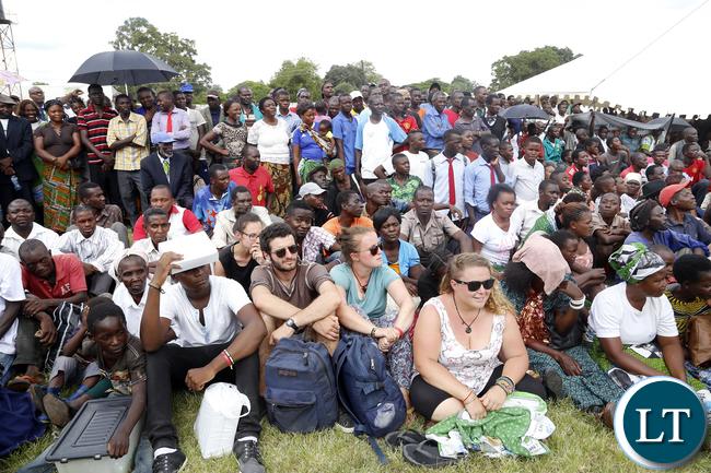 President Lungu Public Rally in Choma
