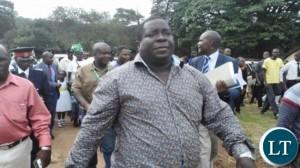 Roan Member of Parliament Chishimba Kambwili