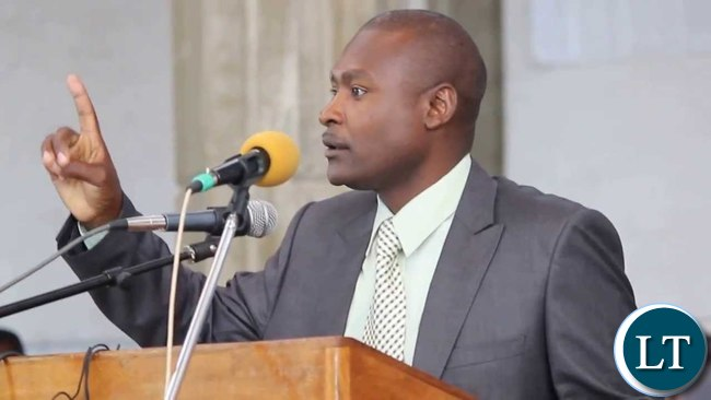Patriotic Front Media Committee Chairperson Frank Bwalya