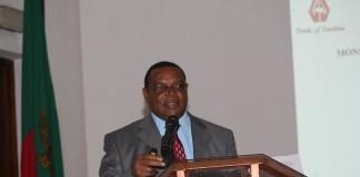 Bank of Zambia Governor Denny Kalyalya