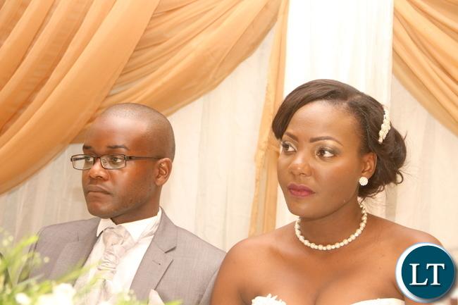 The wedding ceremony of Masuzgo Kaunda Junior (grandson son of Dr Kenneth Kaunda) and Makomba Silwamba (daughter of Eric Silwamba) at InterContinental Hotel in Lusaka