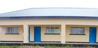 Newly built Mufulira's Kantanshi constituency clinic