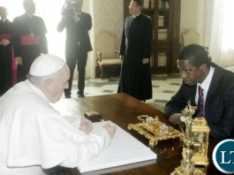 President Lungu Meeting with Pope Francis in February 2016