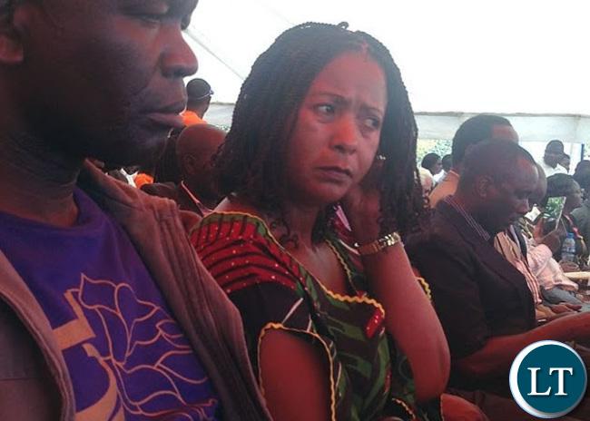 MMD National Treasurer Ms Elizabeth Chitika