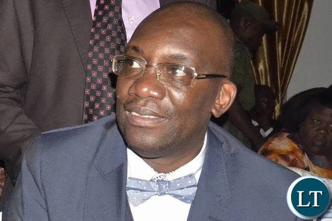 Football Association of Zambia president Andrew Kamanga