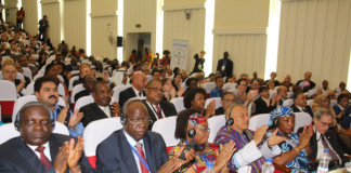 Delegates during the official opening of the 134th Inter Parliamentary Union(IPU) assembly