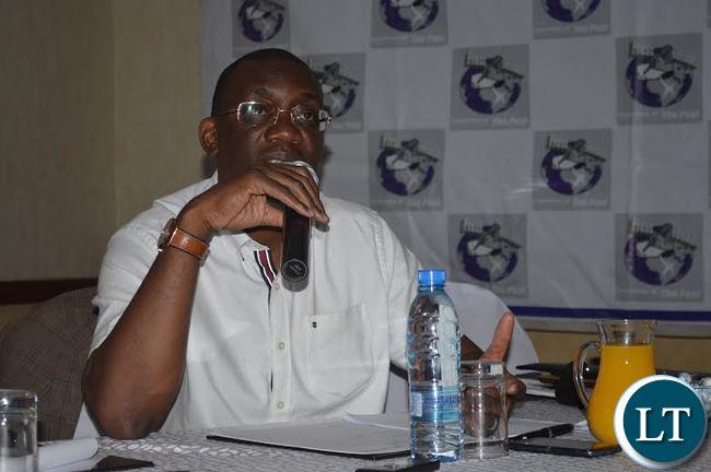 New Football Association of Zambia president Andrew Kamanga