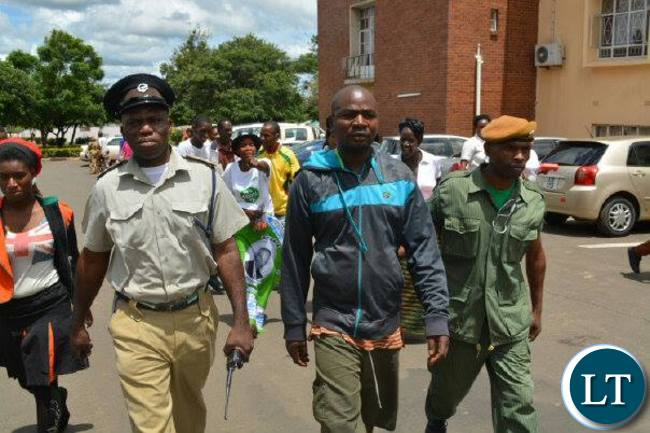 Mushaukwa whisked away by police