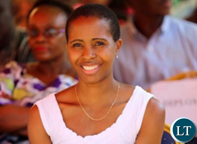 Tasila Lungu spotted at a PF event