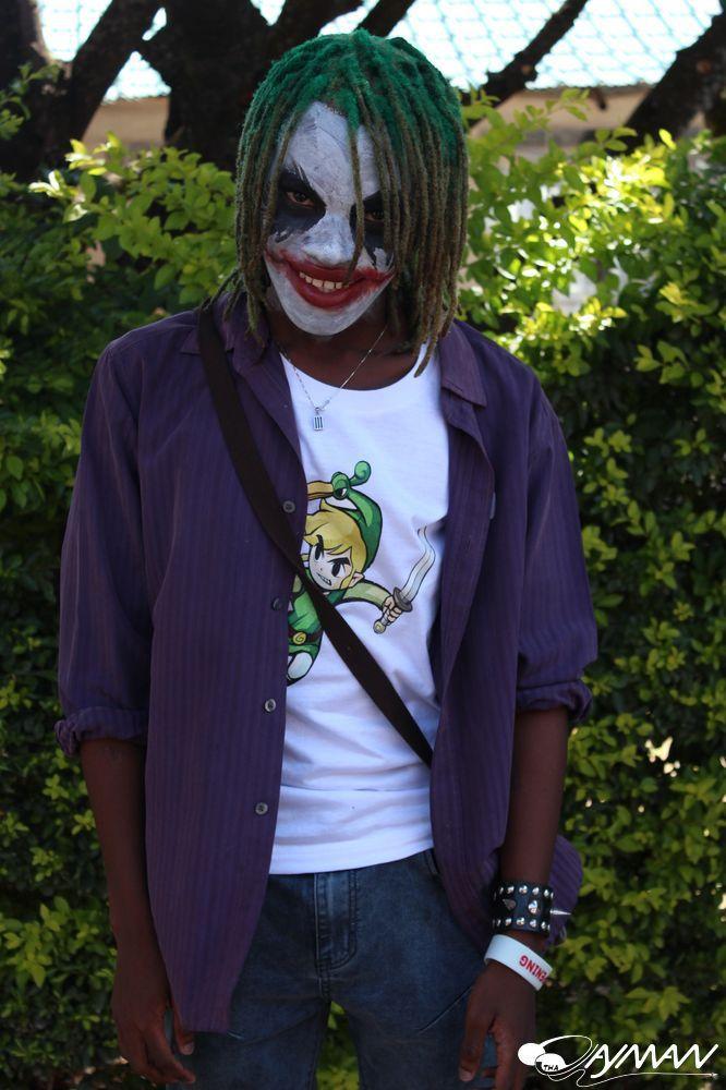 Cosplay as 'The Joker'