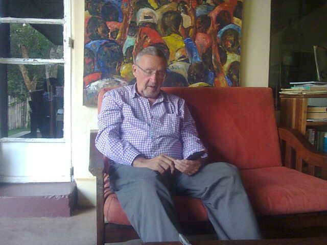 Dr Guy Scott at his residence