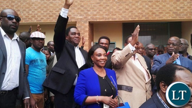 UPND Leadership at the court to offer GBM solidarity
