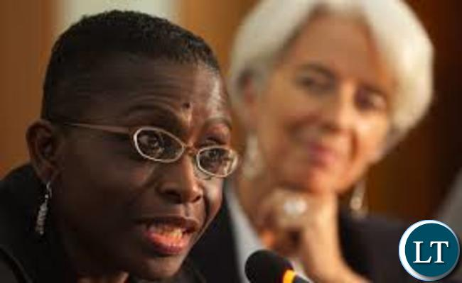 IMF Africa Director Antoinette Sayeh