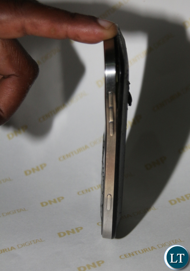 Photo Journalists Jean Mandela's Damaged Phone