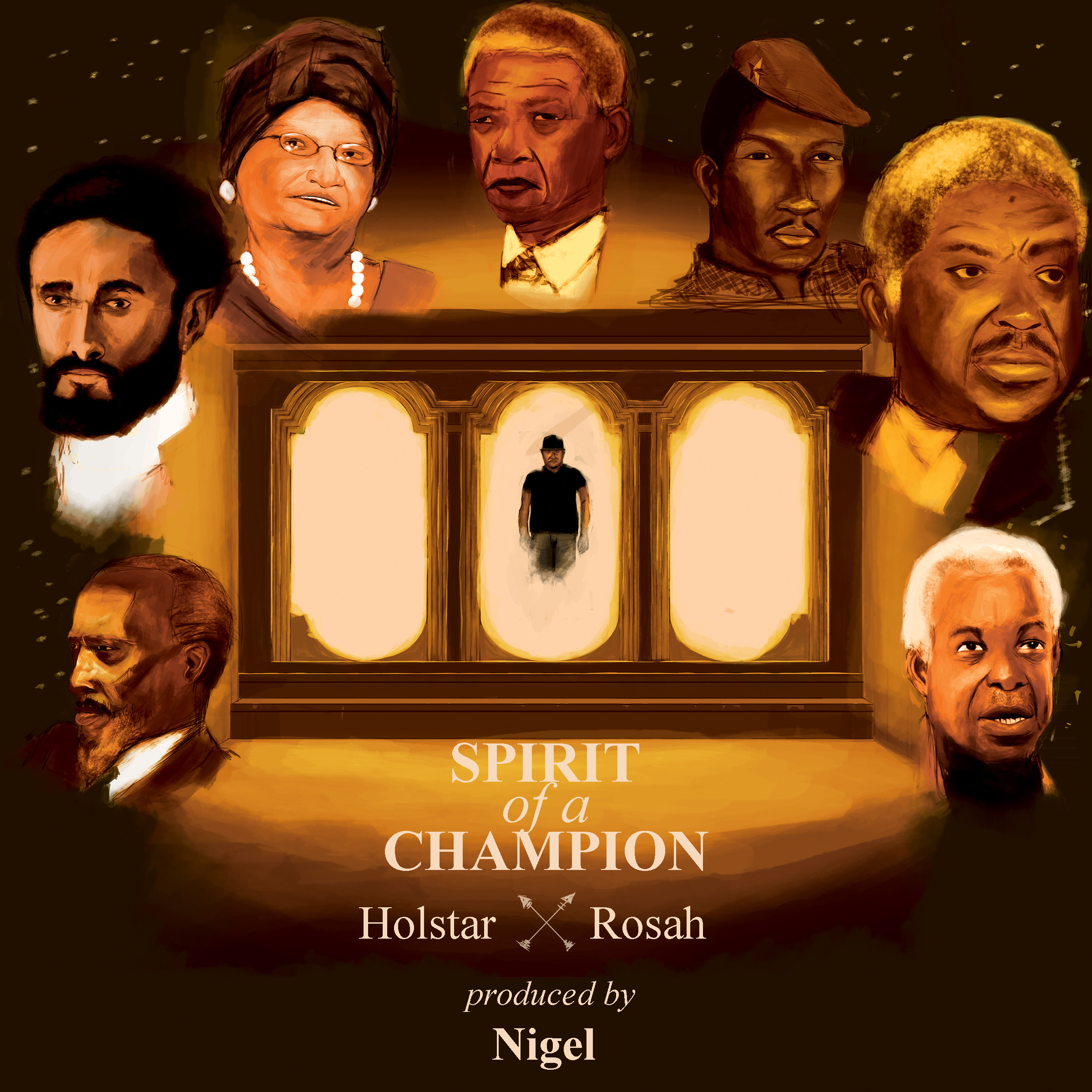 Spirit Of A Champion Official Artwork