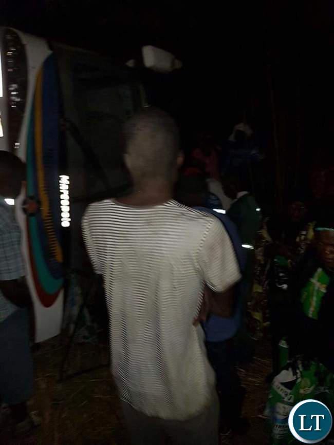 An accident involving PF cadres