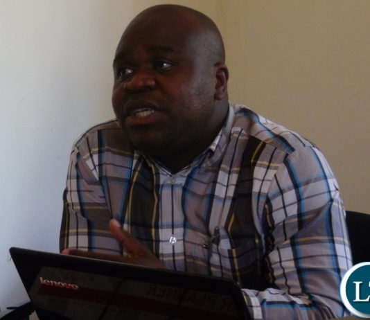 SACCORD executive director Boniface Cheembe