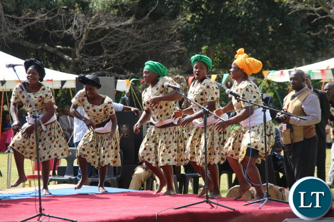 Lusaka selected cultural group