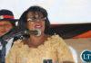 Gender Minsister Nkandu Luo during the UNZA Celebrations