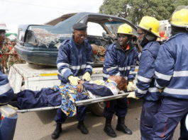 Lusaka Fires Officers Demo