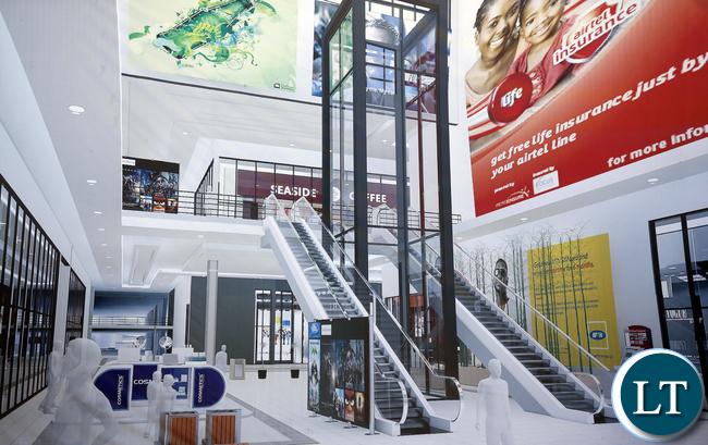 NAPSA KItwe Mall Artist Impression