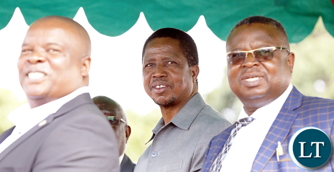 President Edgar Lungu at Labour day Ceremony in Lusaka Picture  by Eddie Mwanaleza.