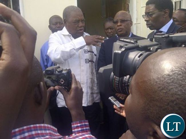 RB and Nevers Mumba after the reconciliatory meeting