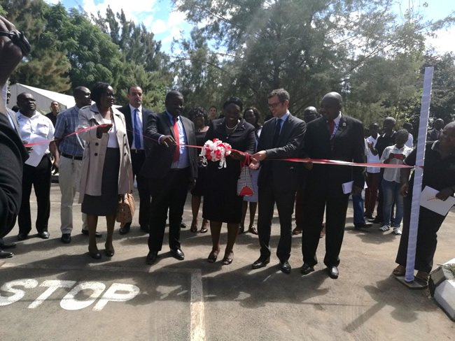 Total Zambia has unveiled the Children's Road Safety Park in Lusaka. Picture courtesy of KPR Consulting (1)