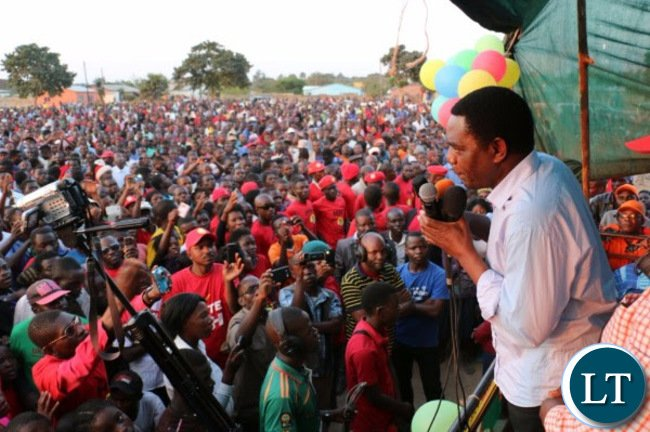 UPND Rally in Mansa