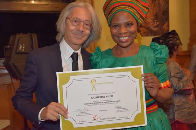 Catherine Phiri Scholarship Award