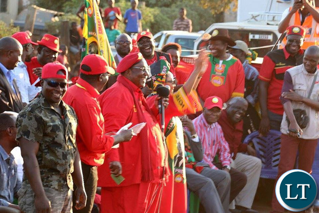 GBM shared the UPND's plans to bring prosperity to Kasama