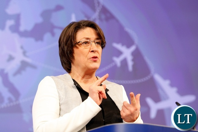 European commissioner for transport Violeta Bulc