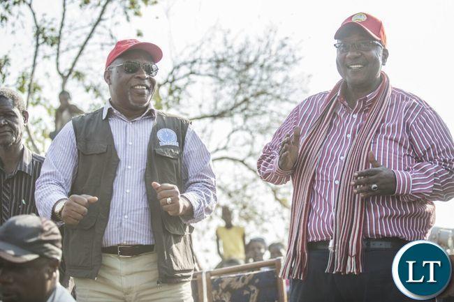 GBM and Nevers Mumba in Musangu, Mwense