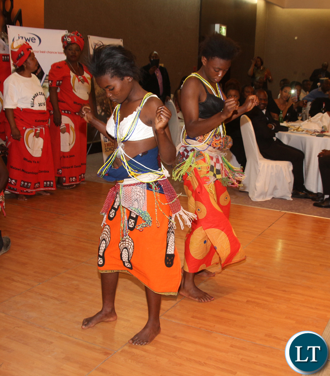 Chimtali dancers.