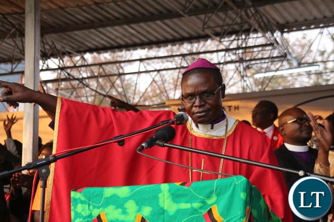 Army Chaplain Brigadier General Bishop Vincent Mwenya