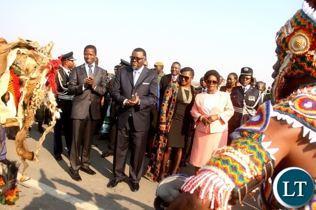 PRESIDENT LUNGU-FIRST LADY ESTHER LUNGU-VIMBUZA 5