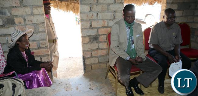President Lungu meets Chieftainess Kaputa