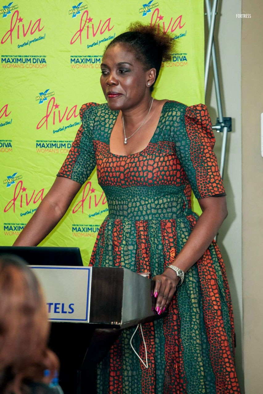 Zambia Womens Lobby Board chairperson Beauty Katebe