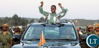 President Lungu Campaigning in Mpika