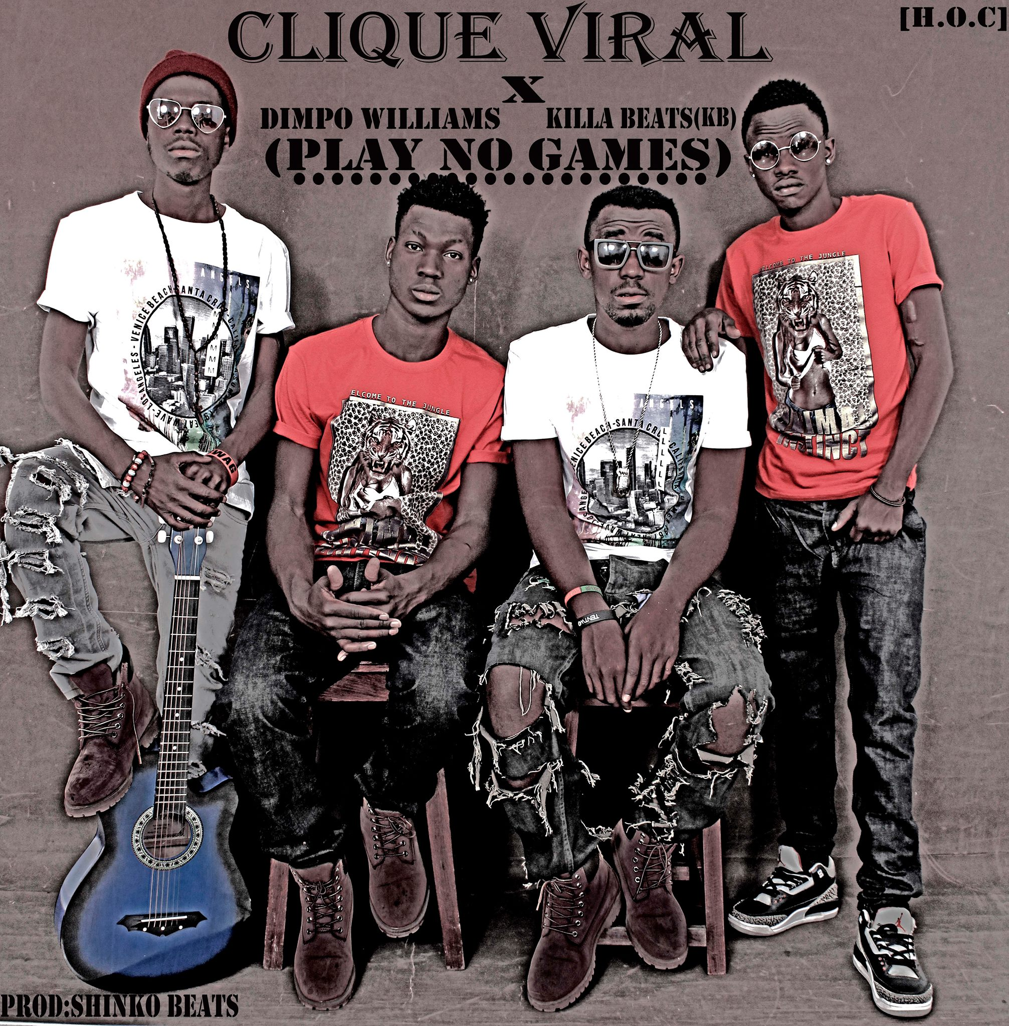 Zambia : Upcoming super group Clique viral present their ...